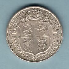 New listing Great Britain. 1926 Halfcrown - Modified Effigy. Full Lustre - aUnc/Unc