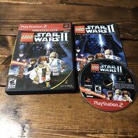 LEGO Star Wars II Original Trilogy Playstation 2 PS2 Video Game Complete