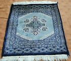 AFGHAN HAND MADE PICTORIAL , GEOMETRIC 100%WOOL AND HAND KNOTTED RUG