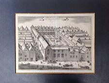 JACOBUS HARREWIJN GRAVURE XVIIe ORIGINALE BELGIQUE  / ENGRAVING ORIGINAL BELGIUM