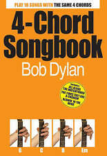 Bob Dylan 4-chord Songbook Paperback Book - NEW