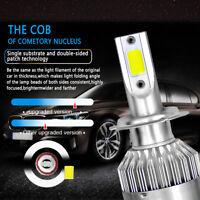 Pair H7 2PCS 36000LM 300W LED Car Headlight Kit High/Low Beam Light Bulbs 6000K