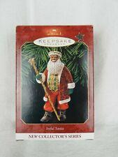 1999 Hallmark Keepsake Joyful Santa Collector's Series Christmas Ornament