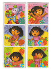 """20 Dora The Explorer Strawberry Scented Stickers, Assorted, 2.5"""" x 2.5"""" each"""
