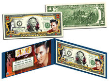 ELVIS PRESLEY Legal Tender U.S. $2 Bill *OFFICIALLY LICENSED* *MUST SEE*
