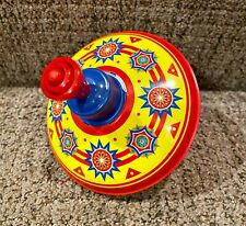 Little Tin Top Classic Retro Fun Spin Twist Activity Kids Preschool Toy Used