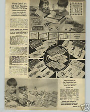 1971 PAPER AD Toy Hot Wheels Car Factory Race Racing Cars Peanuts Picture Maker