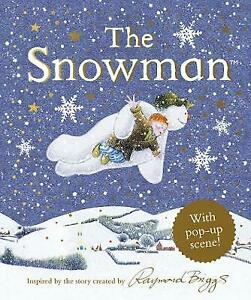 The Snowman Pop-Up by Raymond Briggs 9780241418932 NEW Book