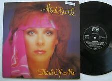 LP Heidi Brühl - Think Of Me - mint- Danny Santos Geoff Bastow Mamacita