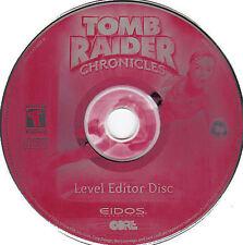 Tomb Raider CHRONICLES Eidos PC Game NEW 2x CDRom Set