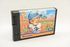 MSX KONAMI'S BASEBALL Msx Konami RC724 Import Japan Video Game msx
