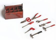 Model Boat Fittings - Graupner MZ0032 Toolbox with Tools 1:8 Scale