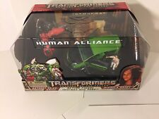 Transformers Hasbro Revenge of the Fallen Human Alliance Skids Mikaela Banes
