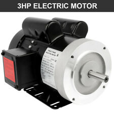 3hp Air Compressor Electric Motor Single Phase 208 230v 3450rpm Reversible