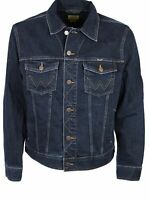 Wrangler Denim Jacket Mens Darkstone Wash Colour S M L XL 2XL 3XL 4XL