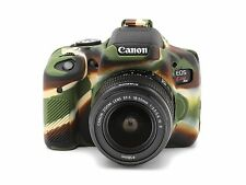 Camera silicone cover for Canon EOS 750D(EOS REBEL T6i)  Camouflage