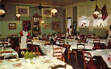 Black Americana, Old Southern Tea Room, Vicksburg, MS, Old Postcard