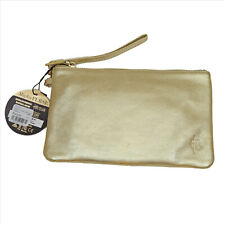 Mighty Purse Gold Genuine Leather 4000 mAh Built-in Phone Charger By HButler