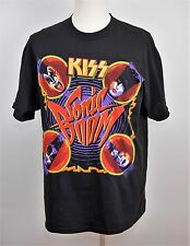 KISS SONIC BOOM GENE SIMMONS Album Concert Tour T Shirt Classic Rock - MEN'S XL