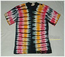 NEU* XL * HIPPIE Batik SHIRT Tie Dyed ETHNO Boho GOA Psy Trance Freaks Baumwolle