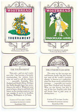 The History of Whitbread Inn Signs - 2 cards (2, 12) from series 15 Inns, London