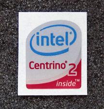 Intel Centrino 2 Inside Sticker 16.5 x 19.5mm Case Badge USA Seller