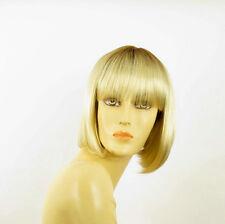 Perruque femme courte méchée blond racine blond foncé FLORENCE YS