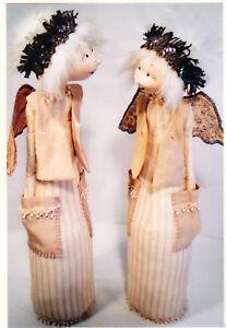 PATTERN - Dot, the Pocket Angel - cloth doll PATTERN - Jill Maas