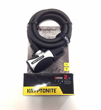 KRYPTONITE KRYPTOFLEX 1218 KEY BIKE BICYCLE CABLE LOCK NEW 1/2 IN X 6 FT