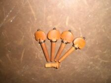 4 PCs JUJUBE Violin pegs B TYPE with End pin All in 4/4