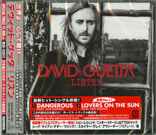 DAVID GUETTA-LISTEN-JAPAN CD BONUS TRACK E20