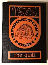 1975 Springtown Texas High School Yearbook/Annual~The Quill~Parker County~Wise