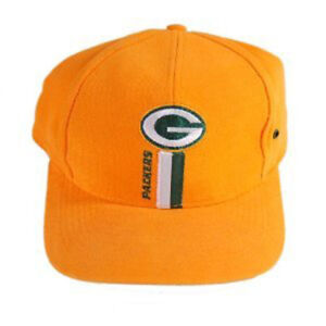 NFL Green Bay Packers Vintage Classic Logo 7 Snapback - Yellow