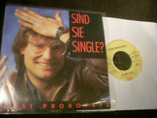 """7"""" Sgl.- JOESI PROKOPETZ(ex- DÖF) - Sind sie Single + So weit weg-EMI (1986AUS)"""
