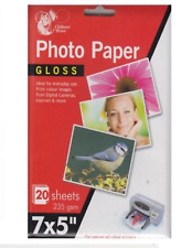 7x5  Gloss Photo Paper 235 gsm Inkjet Printer Photo Paper Colour