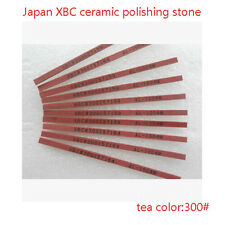 Fibre Stone 5 Pieces Polishing Ceramic Japan Made 1004 tea 300# for Lapping