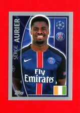 CHAMPIONS LEAGUE 2015-16 Topps -Figurine-stickers n. 21 - AURIER - PSG -New