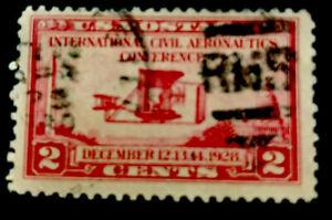 ODZ & ENDZ  20 USED 2¢ - SCOTT#: 649 - AERONAUTICS CONFERENCE ISSUE 1654
