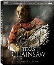 Texas Chainsaw [3D Blu-ray + Blu-ray + Digital Copy + UltraViolet] New Free ship