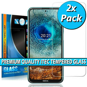 For Nokia X10 / X20 Gorilla Tempered Glass Screen Protector Film Cover