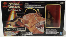 STAR WARS : OPEE & QUI GON JINN BOXED SET MADE BY HASBRO (SK)