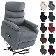 vidaXL Massagesessel Aufstehhilfe Stoff Heizung Fernsehsessel mehrere Auswahl