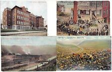 Johnstown PA ~ 7 Old Postcards and Souvenir Folder Great Views ~ Cambria County