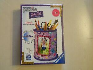 3D Puzzle 3D Ravensburger Girly Girl Pencil Cup Easyclick 54pcs Age 7 Horse