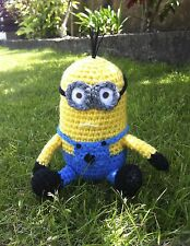 Crochet pattern only- create an Amigurumi Minion like toy from Despicable me