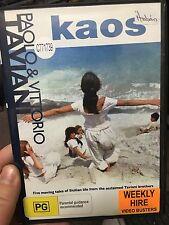 Kaos ex-rental DVD (1984 Taviani Brothers Italian drama movie) rare