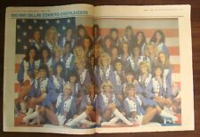 DALLAS COWBOYS WEEKLY~1/25/1986~MIKE DITKA COVER ~ WITH CHEERLEADER CENTERFOLD