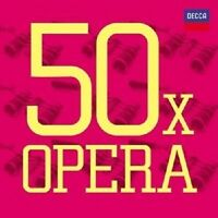 TE KANAWA/PAVAROTTI/SOLTI/KERTESZ/LSO/LPO/BP/+ - 50 X OPER 3 CD NEW+
