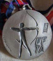 MED10792 - MEDAILLE FTA TIR A L'ARC 1989 MACON CHAMPIONNAT DE FRANCE argt