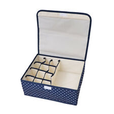 1 Pc Underwear Storage Box Washable Closet Organizer Space Saver for Living Room